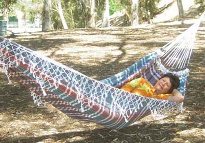 Medium image of one person brazilian rasta style hanging hammocks and double hammocks